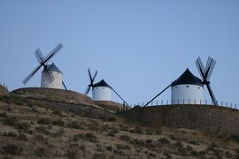真夏のイベリア 暑い時には熱いとこへ⑬ ドン・キホーテゆかりの風車だけ一瞬で良いから見たい コンスエグラ編【7/5夜】