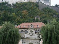オーストリア ザルツブルグ ミラベル公園からザルツブルク城、ザンクト・ペーター教会などを巡って