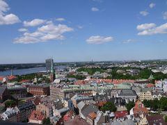 春のポーランド・リトアニア・ラトビア三国巡り その14 聖ペトロ教会の塔から始まったリガの街ぶらぶら歩き