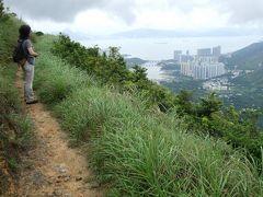 2010年7月の香港、南大嶼郊遊徑へ。