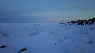 30年来の夢、流氷を見に北海道に・・・しかし流氷は見れずしかも吹雪が来るって③