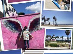 カリフォルニア 8人旅行(13歳・8歳)② ビバリーヒルズ・メルローズ・ベニスビーチ・エンゼルススタジアム・グーフィーズキッチン等