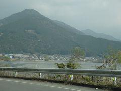 桜咲く奥大井で車中泊 その4 智満寺の観音様、千頭駅(音戯の里)、両国吊り橋