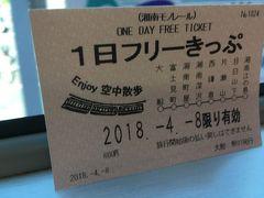 湘南モノレールに乗ってみました。