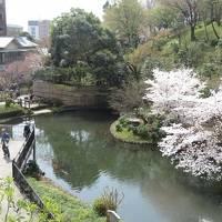 椿山荘でお花見と散策をしました