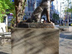 今度は東京の像を見て回る弾丸ツアー!! Part1 スタートは渋谷駅周辺そして浜松町駅ホームでも発見!! O(^-^)O