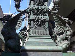 今度は東京の像を見て回る弾丸ツアー!! Part4 日本橋周辺で見つけた「日本橋・獅子像と麒麟の翼像」「三越本館のライオン像」プラス周辺で見かけた像!! O(^-^)O