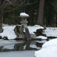 雪の金沢へ