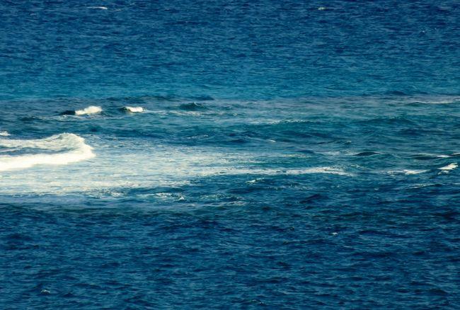 2018春、沖縄の名城巡り(27/28):3月10日(12):知念岬(1):斎場御嶽から歩いて知念岬へ、知念岬公園、久高島、太平洋