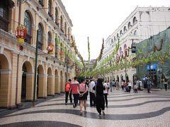 初めての香港&マカオ � 日帰りマカオ世界遺産巡り