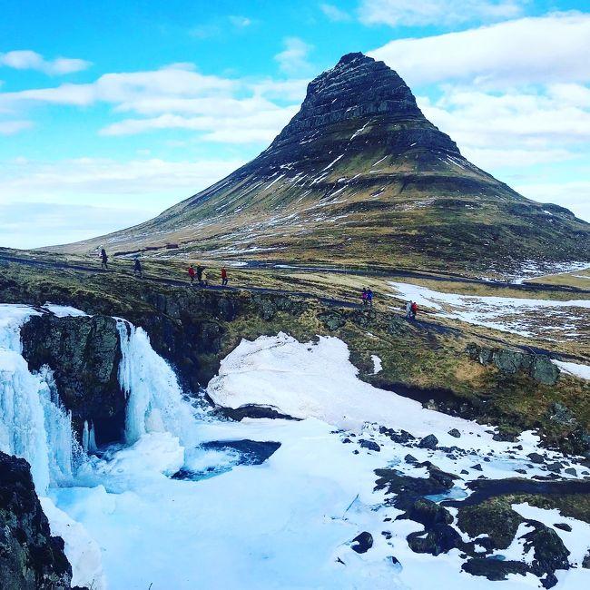 春と真冬を楽しむアイスランド一周旅行。8、スナイフェルスネース半島ツアー。