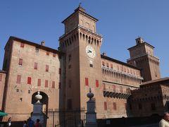 北イタリアの小さな都市巡り その4 月曜のフェッラーラはほとんどの博物館・美術館がおやすみ…