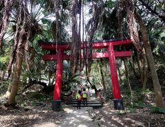 2018.3薩摩大隅半島旅行6-佐多岬,御崎神社,野首嶽周辺の壮観,雄川の滝へ