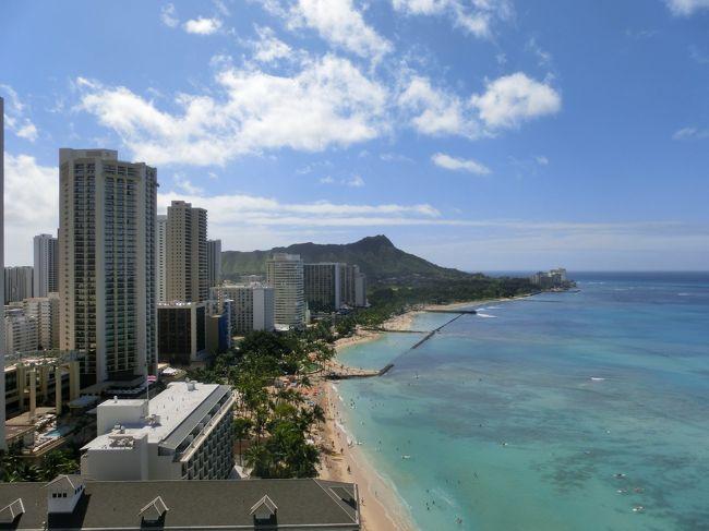 2018年のハワイ旅<br /><br />いつもビーチに行かずレンタカーも借りず ただただ飲んだくれている<br />夫婦ですが・・・<br /><br />今年は違います!!<br />到着早々ハワイ大満喫旅となりました。<br /><br />