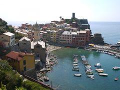 北イタリアの小さな都市巡り その9 世界遺産チンクエ・テッレ巡り後編 綺麗な海にいやされる