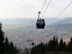 トレベヴィチ山(Trebevic)までドライブ