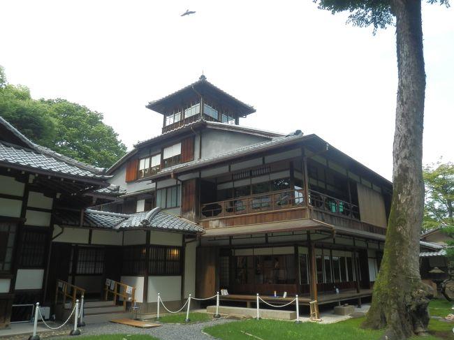 最近年1回以上は行っている京都.<br />しかし祇園祭は見たことがなかったので,早い段階から計画を立てた.<br />7月3連休の月曜が前祭の山鉾巡行とタイミングもよい.<br />祭以外は時期的に行われていた京の夏の旅,そして直前にニュースで知った旧奈良監獄の1日限定公開にも行ってみた.<br />初日,下鴨神社を後にし,旧三井家下鴨別邸,知恩寺,京都大学などを周る.