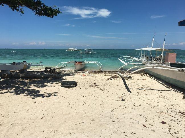ずっと行きたかったフィリピン-セブ島にフィリピン航空を利用し4泊5日で行ってきました<br />2日目にアイランドホッピングでヒルトゥガン島に行ってきました<br />リゾート地は沖縄 グアム ハワイに続き4箇所目<br />想像を絶する海の美しさに感動!