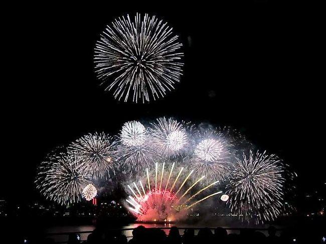 にっぽん丸の「食」を楽しみ、洋上から別府のクリスマスの花火をゆったりと鑑賞する、2泊3日のショートクルーズです。冬は空気が澄んでいるためか、花火の色がとても映えます。<br />