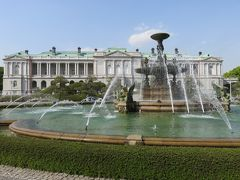 迎賓館 赤坂離宮に初めて入館。