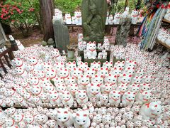 猫・猫・猫がカワイイ!招き猫まみれの豪徳寺