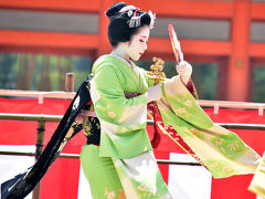 2018 京都平安神宮の例祭翌日祭・神賑行事