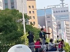 2018年4月 羽生結弦選手オリンピック二連覇凱旋パレードin仙台