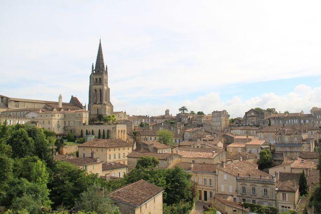 初夏の南西フランスを巡る 14 13日目 サンテミリオン滞在