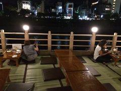 秋の京都その2 清水寺と先斗町の川床