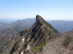 四国の旅(1) 石鎚山登山