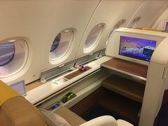 タイ航空A380ファーストクラスで行く成田ーバンコク