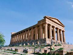 地中海の美しい原風景を求めて シチリアと南イタリアの旅  2. アグリジェント