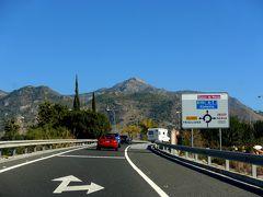 2017.12アンダルシアドライブ旅行29-Malaga空港による,A-7をNerjaに向かう