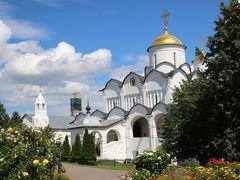 2016年ロシア黄金の環めぐりの旅【第10日目:スズダリ1日目】(1)麗しのカーメンカ河畔の眺めは記憶よりも美しく&3年前に訪れたかったポクロフスキー修道院