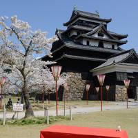 「さくら名所100選」を訪ねる花見ドライブ・その4<松江市・松江城山公園>