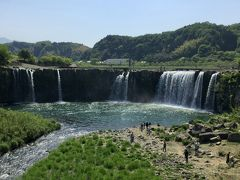 日本の滝百選にあげられる名爆「原尻の滝」を見てみよう    ☆大分県豊後高田市