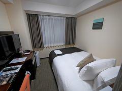 【国内301】函館に桜を見に行く1-タマディアホテル羽田に前泊,NH553で函館へ