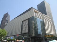 上海の陸家嘴・L+MALL陸家嘴中心・建物は竣工
