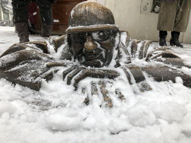 2018,2月 中欧巡りをしてきました。No,9 雪のプラチスラバからブダペスト漁夫の砦とマーチャーシュ教会