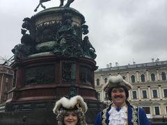 観光充実?ロシア周遊6日間  キンキラは見られたけど ・・・(1)サンクトペテルブルク      ツアーに付いて市内 観光と ほぼ興味の無いエルミタージュ美術館  新館