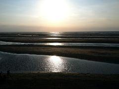 ゴールデンウィーク、今年も大分に帰省しました。初日のPart2 日本一の夕陽が見れる真玉海岸でまて貝掘り!