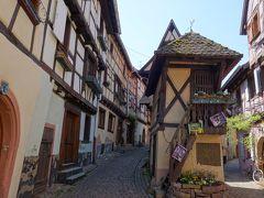 エギスハイムEguisheim。ここも難しい名前。美しい村です。