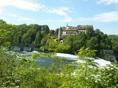 海外一人旅第15段はスイスの魅力に癒される旅 - 2日目(ラインの滝)