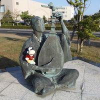 グーちゃん、GWに島根へ行く!(松江/おはよ!お湯かけ地蔵さん!編)
