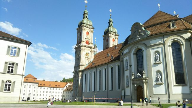 海外一人旅第15段はスイスの魅力に癒される旅 - 2日目(ザンクトガレン)