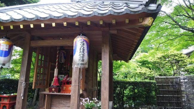 2日どこへ行こうかと、思っていたら普段閉まっている鹿ヶ谷住蓮山安楽寺が、くさの地蔵縁日で毎月2日は開いているようなので行ってみました。