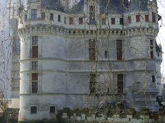 ☆ Bon jour FRANCE ☆ ~~Paris(パリ) から 足を伸して、、⑨ ~~ 【 ロワールの宝石 アゼ ル リド&ヴィランドリー城 編 】 トゥール(Tours)を起点に ロワール川 古城巡り <2日目・午前 >  (3/18)