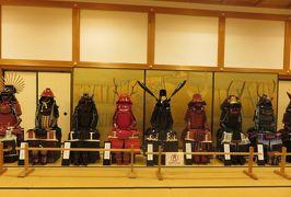 2018春、兵庫と京都の名城巡り(2/14):5月4日(2):篠山城(2):大書院の展示品、甲冑、古文書、大書院模型