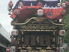 ユネスコ無形文化遺産の知立祭り見学
