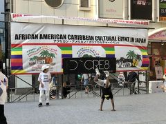 新宿歌舞伎町でアフリカン・アメリカ・カリブカルチャーイベントが開催、カリブフードとサンバガール